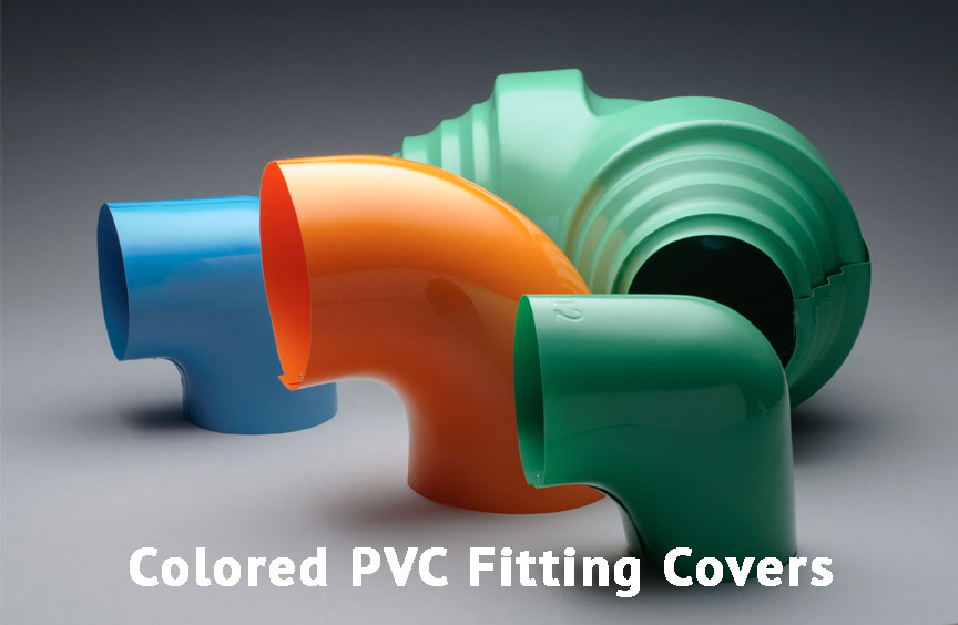 Colored PVC Fitting Covers