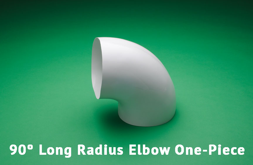 90º Long Radius Elbow One-Piece