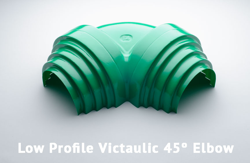 Low Profile Victaulic 45º Elbow