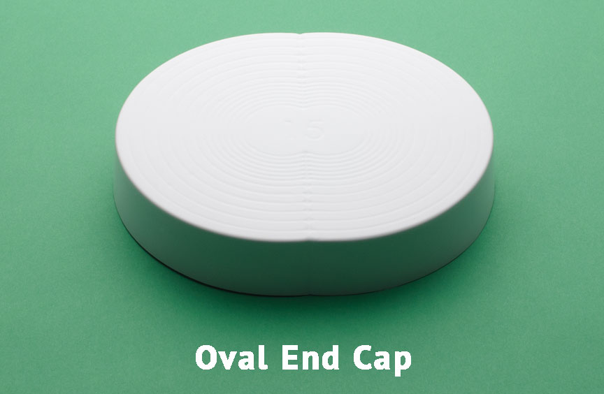 Oval End Cap