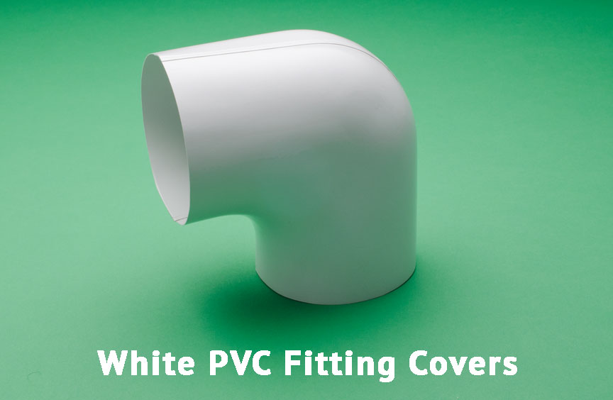 White PVC Fitting Covers